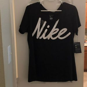 NWT Nike women's dry fit shirt- Size: Large